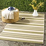 Best Outdoor Area Rugs - Safavieh Courtyard Collection CYL7062-234A Beige and Green Indoor/ Review