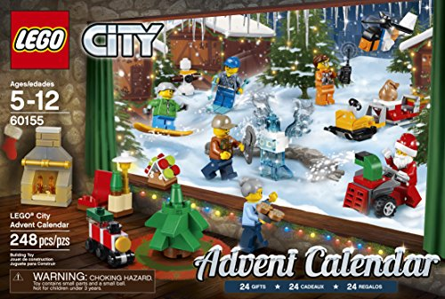 LEGO City 2017 Advent Calendar Building Kit 60155 (248 Pieces ...
