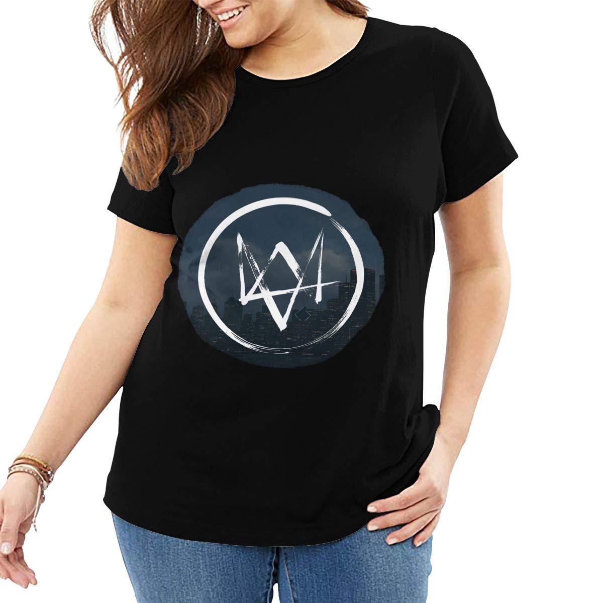 Alan Walker Logo Short-sleeved T-shirt Black