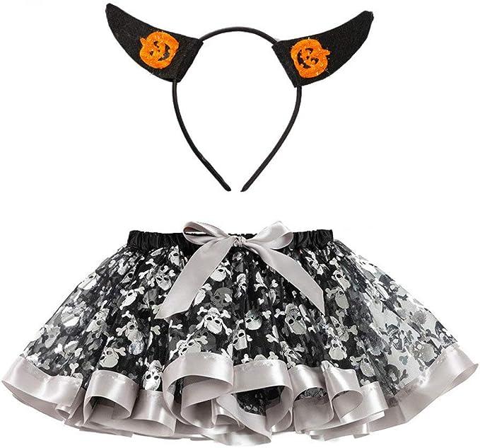 POLP Halloween Tutu Niñas Conjuntos Disfraz Halloween Ropa de ...