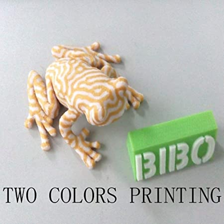 BIBO 3D Printer Sturdy Frame Dual Extruder Laser Engraving WiFi Touch  Screen Cut Printing Time in Half Filament Detect Removable Glass Bed