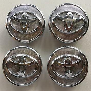 hyfml para Toyota Prius Yaris Vios 57 mm Center Caps cubierta rueda Center Caps 4pcs: Amazon.es: Coche y moto