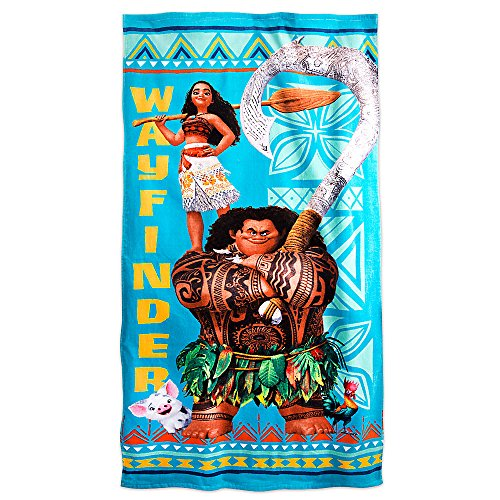Disney Moana Beach Towel - Blue427262371059