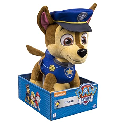 Paw Patrol Paw Patrol Nickelodeon Chase Soft Toy Spin Master Figure Plush Animals & Figures at amazon