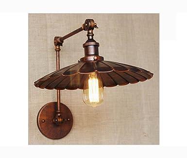 Weiting Industrielle Antik Rost Wand Lampe Swing Arm Wandbeleuchtung