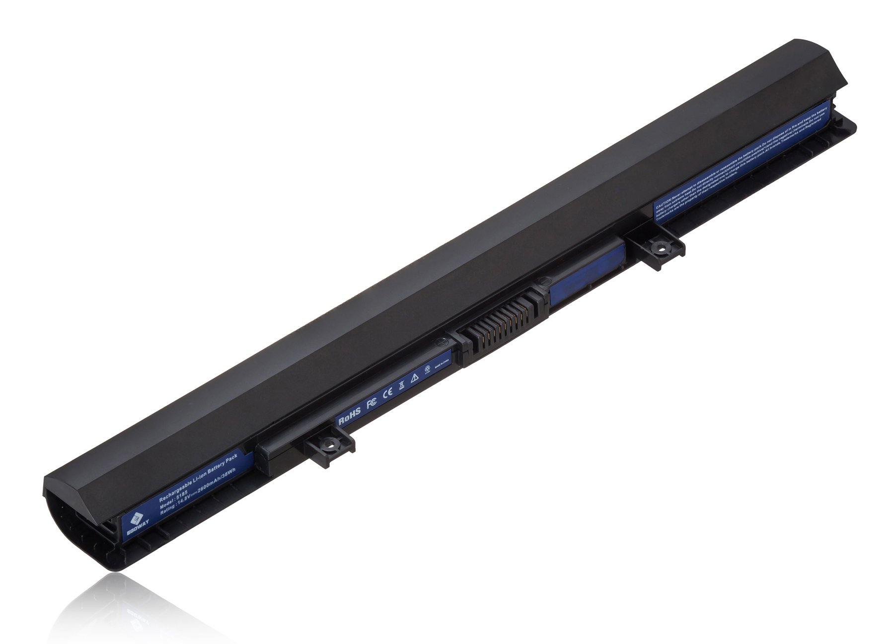 Egoway Replacement Laptop Battery for Toshiba PA5185U-1BRS PA5186U-1BRS PA5184U-1BRS Satellite C55 S55 S55T E45-B4100 Series (14.8V 2600mAh)