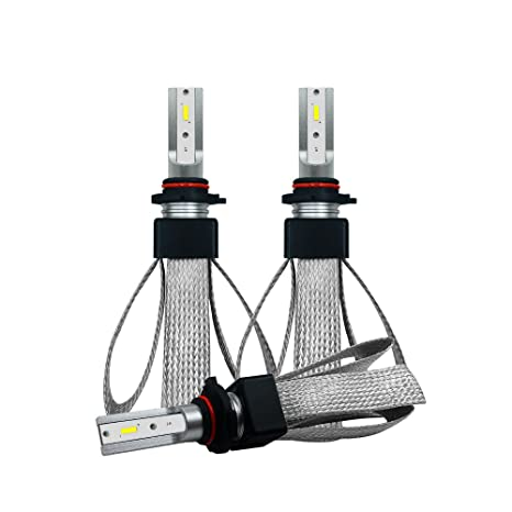 Amazon Com Autoclub H1h4h7h1190059006 2pcs Led Headlight Bulbs