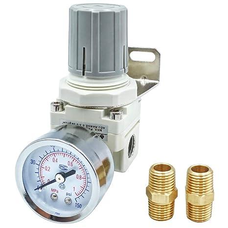 Amazon.com: Tailonz - Mini regulador de presión neumático ...