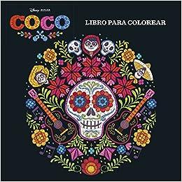 Coco Libro Para Colorear Disney Coco Amazones Disney Libros