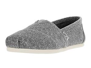 Toms Women's Classic Grey Marl Casual Shoe 8.5 Women US