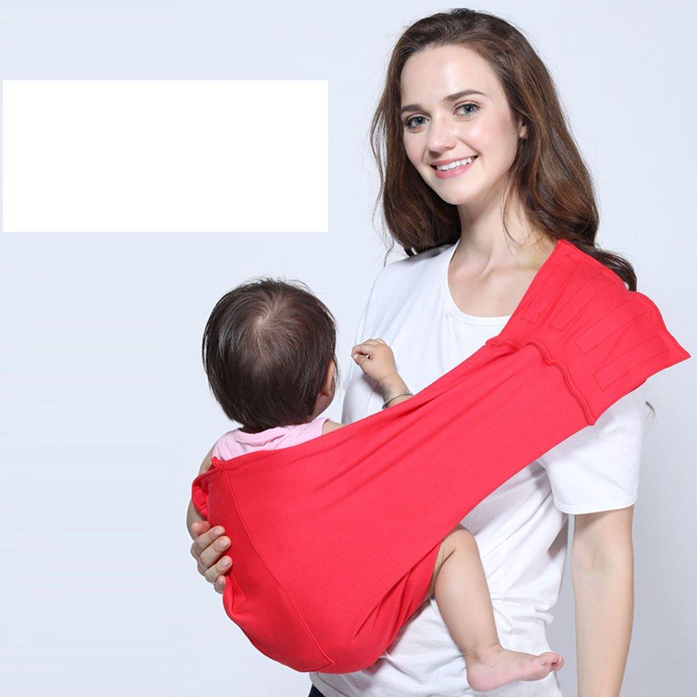 XU Babytragetuch Kindertragetuch Babybauchtrage Leichtgewicht Front Halten Vier Jahreszeiten Universal Schläfrig Reisen