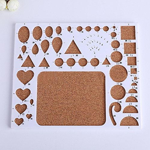 1 Set DIY Quilling Tool Origami Template Paper Pen Mould Tweezer Needles Random Color by Access-Toys02