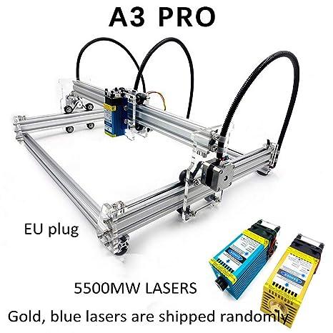 Máquina de grabado láser A3 Pro Desktop Mini USB CNC DIY impresora ...