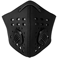 Dioche Mascara Antipolvo, 4 Colors Máscara de Cara Duradera del Filtro Antipolvo para Ciclismo Filtro de Aire Mascarilla de Polvo Máscara Ciclismo contra Polvo