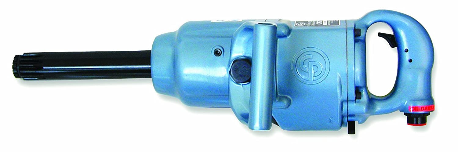 Chicago Pneumatic CP797SP-6#5 Spline Super Duty Air Impact Wrench with 6-Inch Extended Anvil CP797SP6
