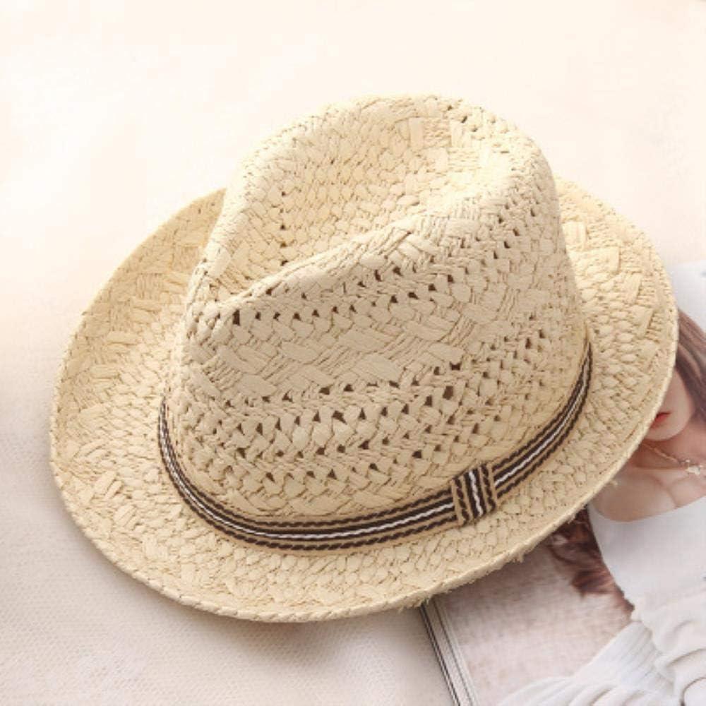 Cranky Orange Verano Mujer Sol Sombreros Dulce Colorido Borla Bolas Hombres Paja Sombreros ni/ñas Vintage Playa Panam/á Sombreros chapeu Feminino Fedoras Jazz-en Hombres Sombreros de Sol