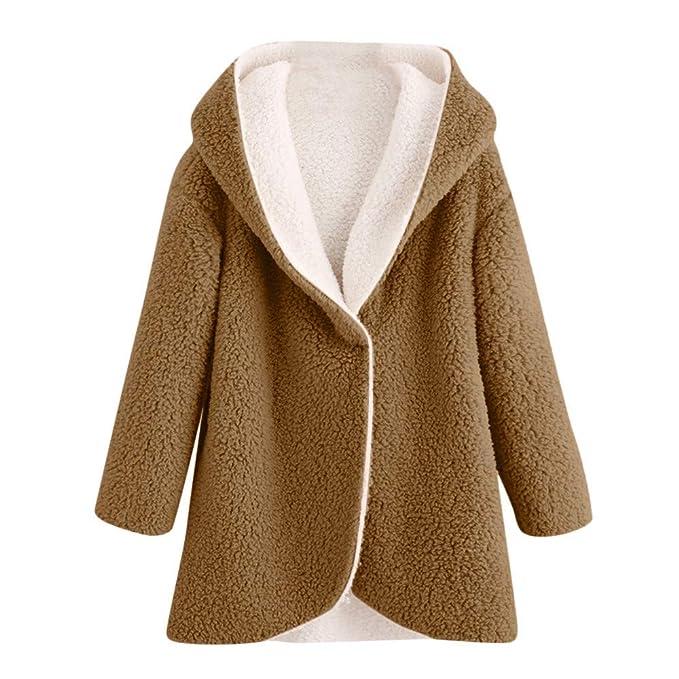 Abrigos Mujer Pelo Sintetico Nieve Fiesta Forro Polar Chaqueta Kimono Invierno Caliente Juveniles 2018 2019