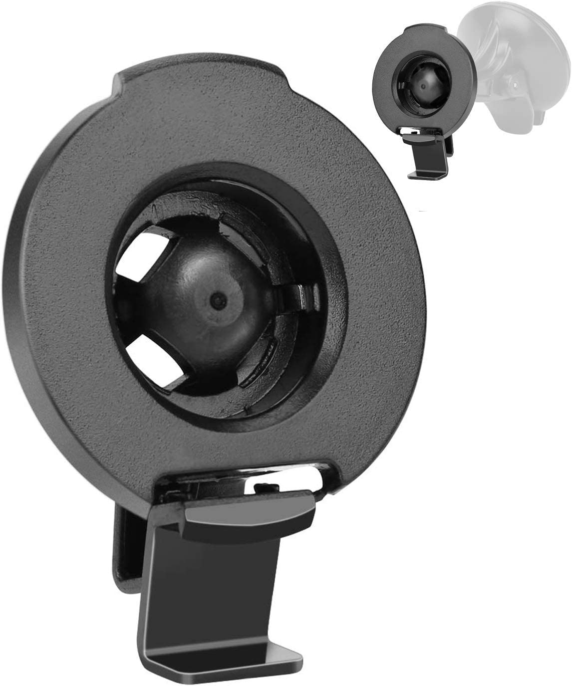 Y-SPACE Replacement Bracket Mount Compatible with GPS Garmin Nuvi 50 50LM GPS Compare to Garmin 010-11765-02