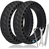 TOPOWN 2 pcs Solid Tire for Xiaomi m365 electric scooter gotrax gxl/gotrax XR with 3 installation tools, 8.5 inches Electric