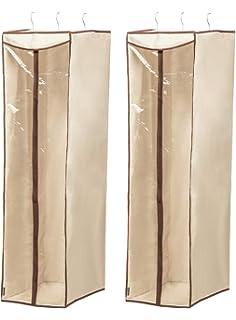 4 3 unidades almacenamiento o viajes para trajes tama/ño grande 43.3*23.6 inches Langyinh chaquetas transparente abrigos Funda protectora para ropa