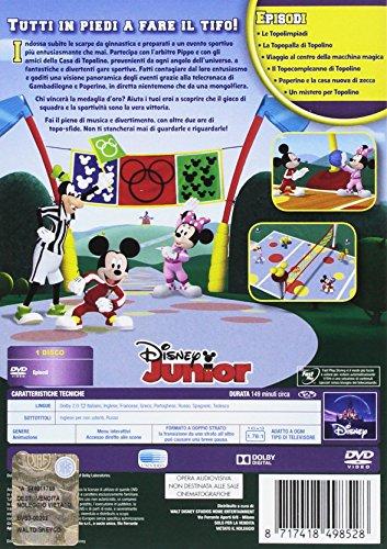 La Casa Di Topolino Le Topolimpiadi Dvd Amazonit Walt Disney