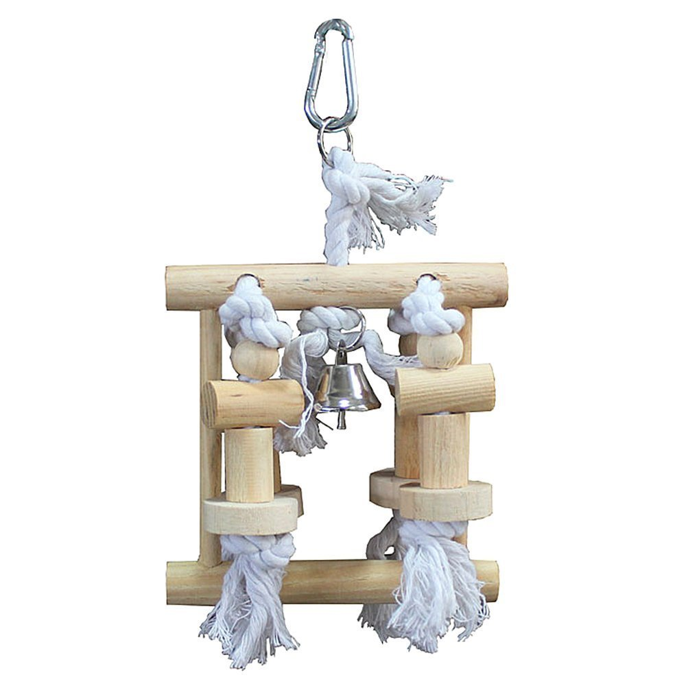 B & P Natural Bird Toy