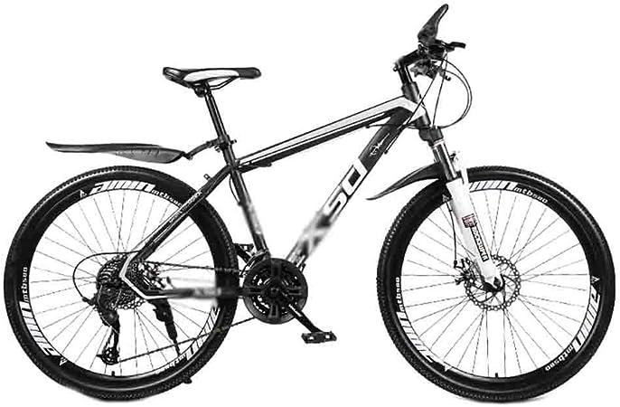 Bicicleta para joven Bicicletas De carretera MTB MTB adulto camino de la bicicleta Bicicletas de la ciudad Amortiguador ajustable velocidad Bicicletas for hombres y mujeres de doble freno de disco: Amazon.es: Hogar