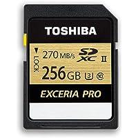Toshiba Thn-N501G2560E6 Exceria Pro 256Gb Sdxc Uhs-Ii U3 270/250