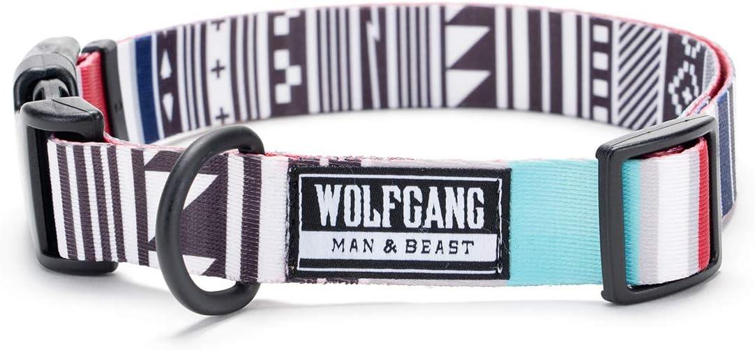 WOLFGANG MAN & BEAST/ウルフギャング マン & ビースト CultureShock Collar (L size) 巾2.5cm x 首回り45-66cm 【大型犬用首輪】