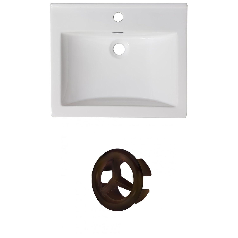 American Imaginations AI-888-21209 Ceramic Top Set White