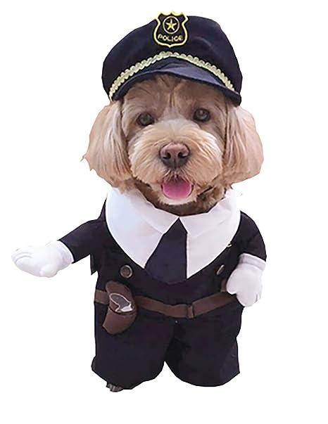 Mool Da Vestiti Animale Domestico Ecole Polizia Uomo Cane Costume RwHRUqr