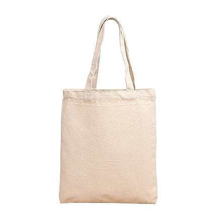 4fc15629d NOTAG Cotton Canvas Tote Bag Reusable Shopping Bag Multipurpose Daily Use Shoulder  Bag kitchen Storge Bag