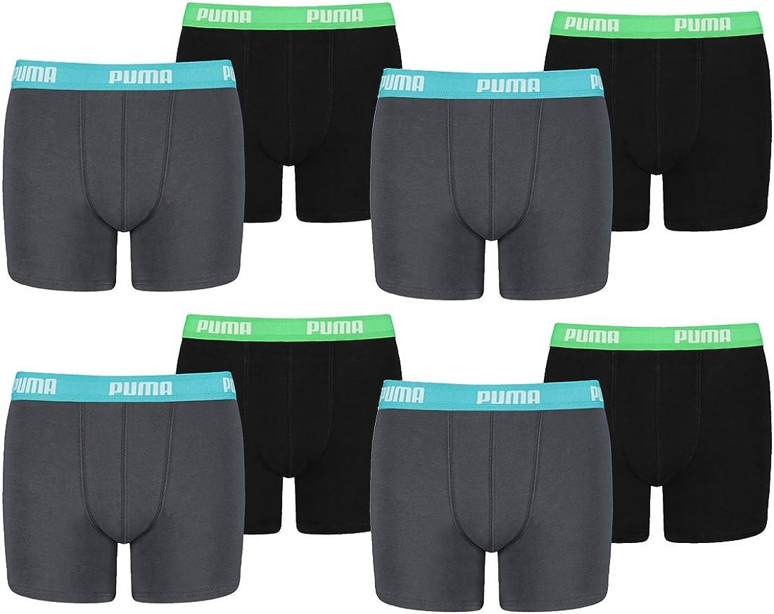 PUMA Herren Boxershorts (7er Pack): : Bekleidung