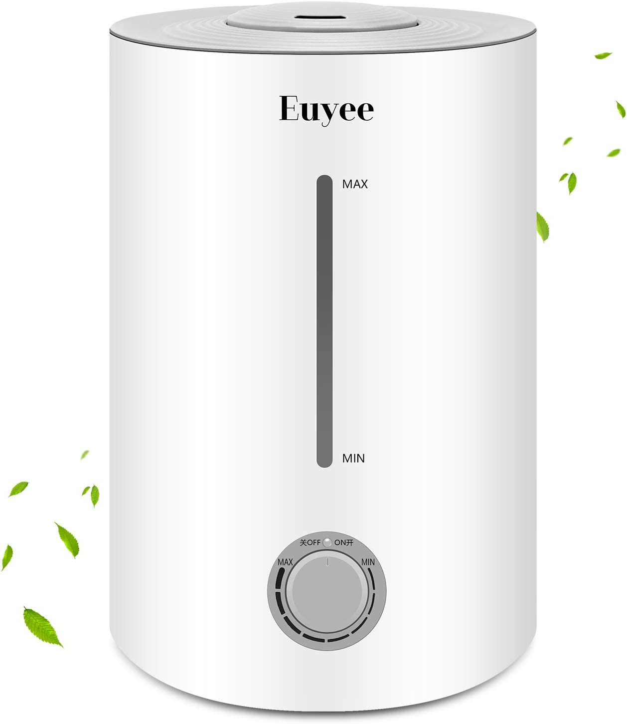 TTLIFE Ultrasonic Humidifiers Large Room, 5.5L Ionic Warm and Cool Mist Humidifiers for Bedroom Baby, Steam Vaporizer air humidifier with Essential Oils and Remote, Whisper Quiet Customized Humidity