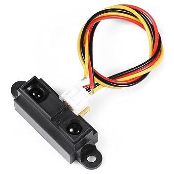 para el Accesorio Arduino Kits LDTR-WG0098 / B DIY Smart Coche/Robot IR de obstáculos de evitación Sensor de Distancia del Sensor de medición para Arduino ...