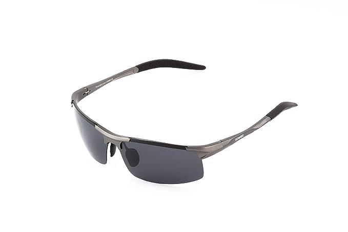 Sunner Gafas de Sol Clásicas Para Hombre SUL8177 Protección UV400 Lentes Polarizadas Montura Ligera y Resistente