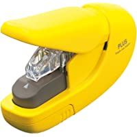 Plus Products - Grapadora sin grapas, color amarillo