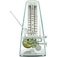 ZHANGSHENG Mechanical Metronome for Piano Drum Violin Guitar Bassand Other Musical Instruments T710 (Transparent)