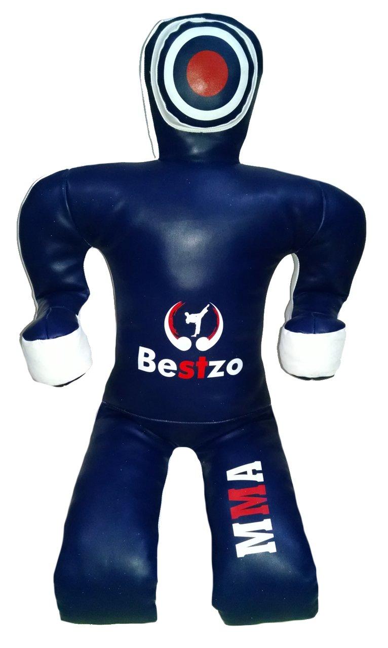 bestzo MMA Jiu ft) Jitsu柔道Punching Bag MMA GrapplingダミーSitting Position blue-unfilled Synthetic 59 inches (5 ft) Synthetic Leather Blue B01M7U60RW, 近鉄和歌山:9618e1f0 --- mail.tastykhabar.com