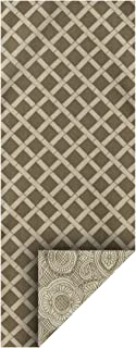 "product image for Heritage Lace Duet Table Runner, 13"" x 72"", Flax"