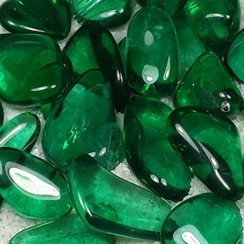 Green Obsidian - Green Obsidian Tumble Polished Crystal Stone, 1 pc, Sizes 1 to 1.55 Inch, TS904