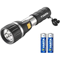 Varta 3 x 5 mm LED Day Light F20 (Taschenlampen Flashlight Leuchte Lampe Arbeitsleuchte Taschenleuchte Taschenlicht geeignet für Haushalt, Camping, Angeln, Garage, Notfall, Stromausfall, Outdoor)