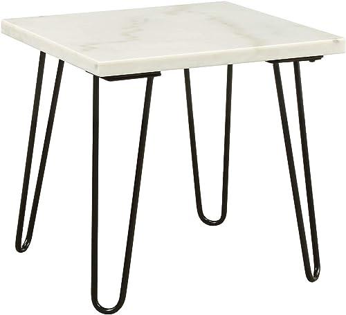 ACME Furniture Telestis End Table, White