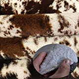 JACCAWS Natural Pattern Tricolor Faux Cowhide Rug
