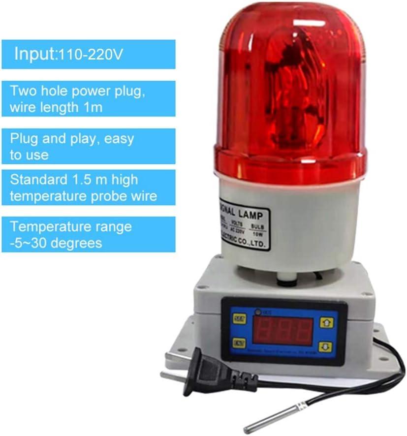 Temperature Alarm Thermostat Machine Room Farm Oven