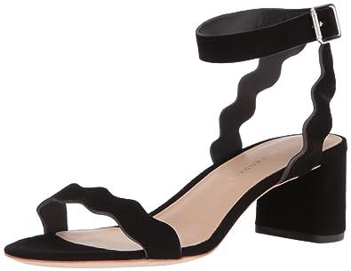 2c43c1f39ee Loeffler Randall Women s EMI Signature Scallop Block Heel Dress Sandal