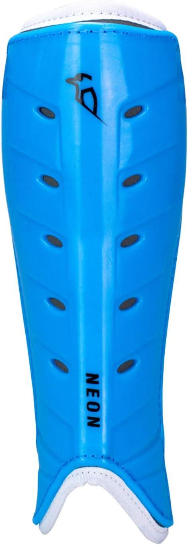 KOOKABURRA Prot/ège-Tibias de Hockey Fluo Unisexe Bleu XS
