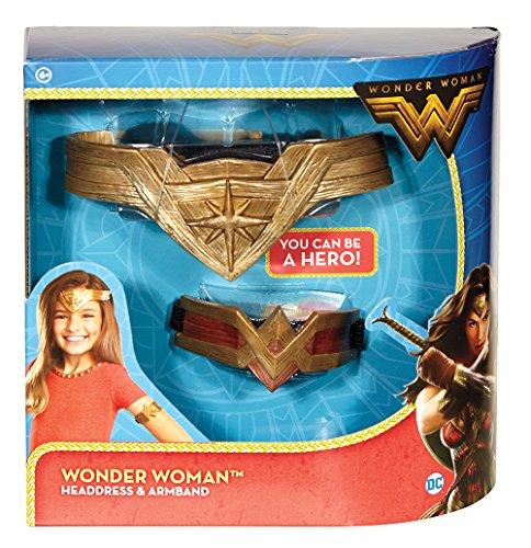 Dc Wonder Comics Woman E Copricapo Braccio Da Fascia PPx7Anr