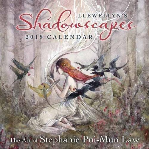 llewellyns 2017 shadowscapes calendar