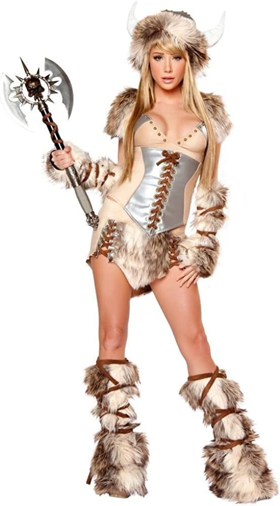 J San Valentín para mujer Sexy disfraz de vikingo valeroso ...